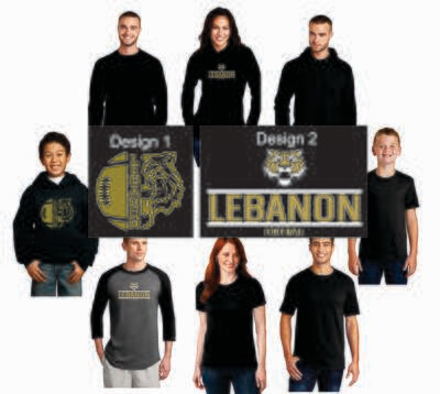 Lebanon Football Screen Print