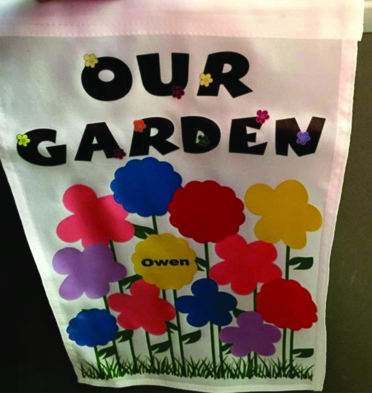 Our/My Garden Flag