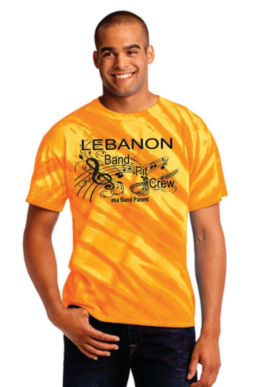 Lebanon Band Pit Crew