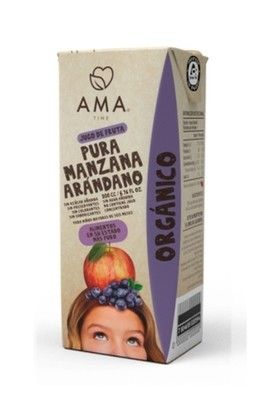 Ama Jugo Manzana Arándano Orgánico 200 cc