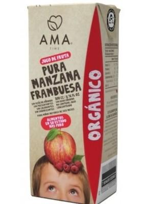 Ama Jugo Manzana Frambuesa Orgánico 200 cc