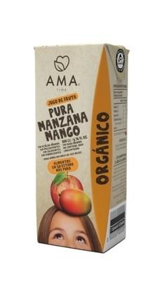 Ama Jugo Manzana Mango Orgánico 200 cc