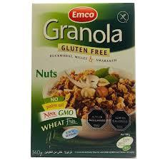 Granola Frutos Secos s/gluten 340 grs.