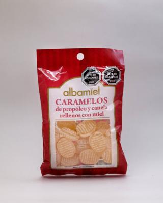 Caramelos Propóleo Miel Canela