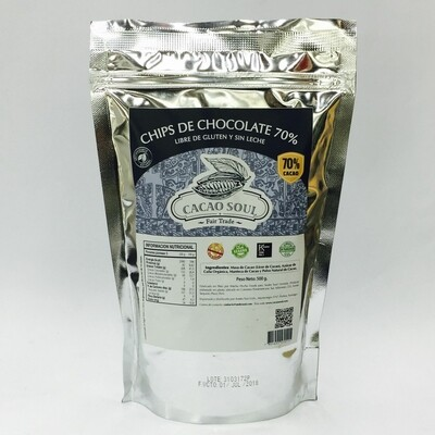 Chip de Chocolate Orgánico 70%