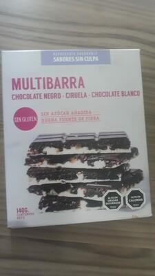 Multibarra Choco Negro Ciruela