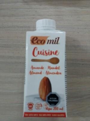 Crema de Almendra sin Azúcar Orgánica
