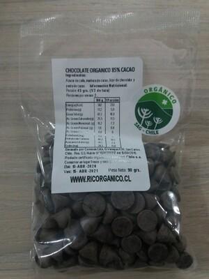 Chip de Chocolate Orgánico 85% Cacao