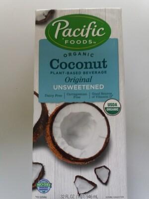 Alimento Líquido de Coco Sin Azúcar Orgánico