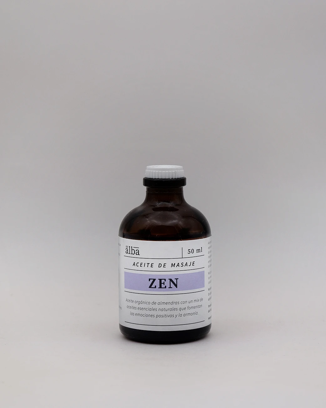 Aceite Masaje Zen Orgánico