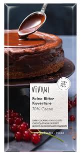Cobertura de Chocolate Amargo 70 % cacao órganico