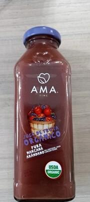 Ama Jugo Manzana Arandano Orgánico