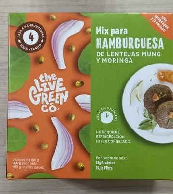 Mix Hamburguesa de Lenteja Mug y Moringa