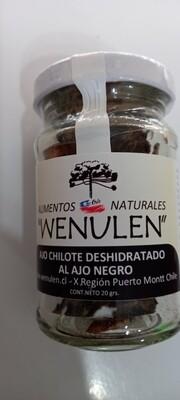 Láminas de Ajo Chilote al Ajo Negro