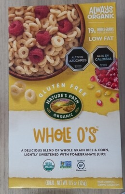 Cereal De Grano Entero Orgánico
