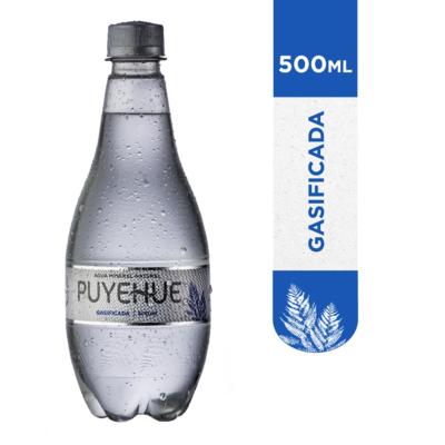 Agua Mineral Puyehue c/gas 500 ml.