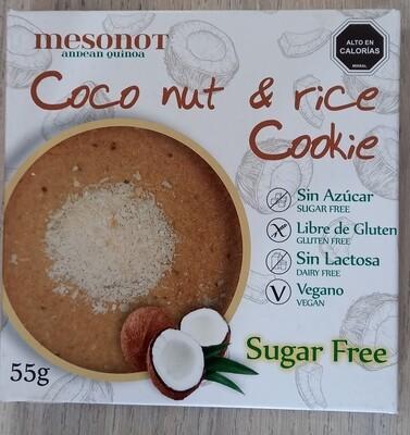 Galletón Coco Arroz Sugar Free