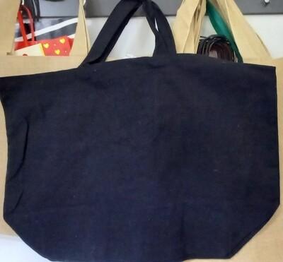 Bolsa Algodón 40x58x20 cm Negro
