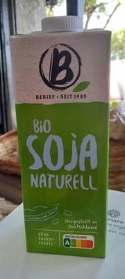 Alimento Líquido de Soya Sin Azúcar Orgánico