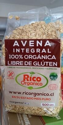 Avena Sin Gluten Orgánica
