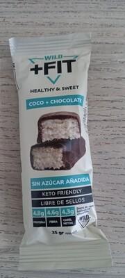 Barra Wild Fit Coco Chocolate