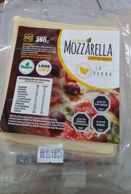 Queso Mozzarella Laminado