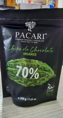 Chip de Chocolate  Raw 70% Orgánico
