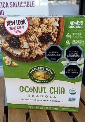 Cereal de Granola Coco y Chía