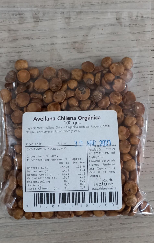 Avellana Chilena Orgánica