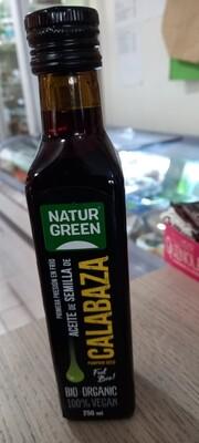 Aceite de Semilla de Calabaza Orgánico