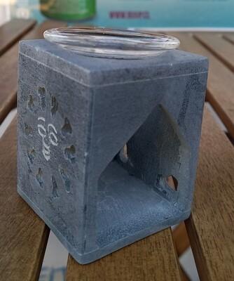 Difusor de Vela Piedra Cuadrado