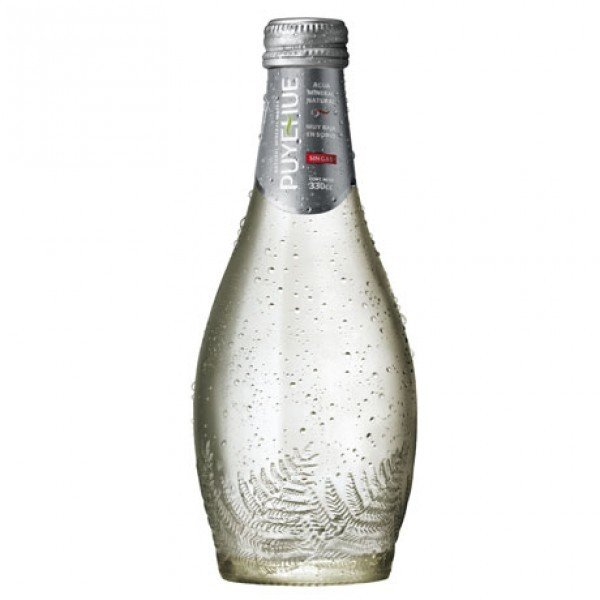 Agua Mineral Puyehue s/g Vidrio 330 ml.