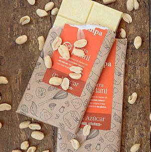 Chocolate Barra Maní Sin Azúcar 80 grs.