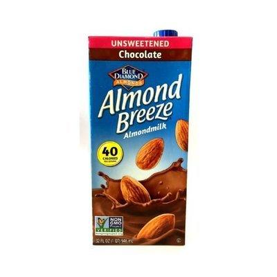 Alimento Líquido Almendra Chocolate s/azucar 946 ml.