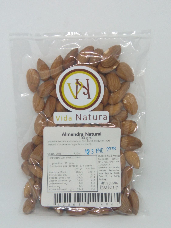Almendra Natural 100 grs.