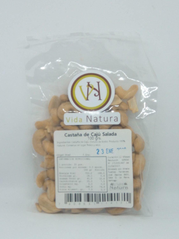 Castaña de Cajú Salada 100 grs.
