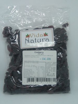 Cranberry 250 grs.