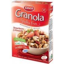 Granola Frutilla Almendras s/gluten 340 grs.