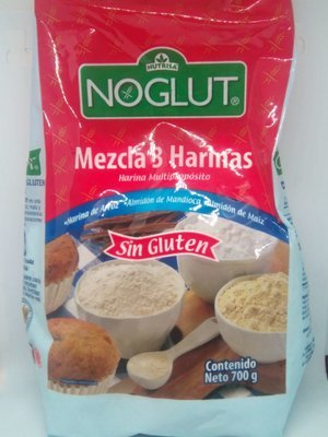 Mezcla 3 harinas NoGlut
