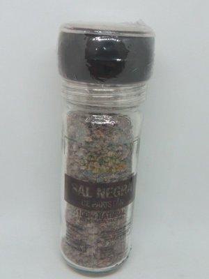 Sal Negra 100% Natural c/molinillo 100 grs.