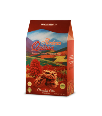Galleta Chocolate Chips Andean Quiona