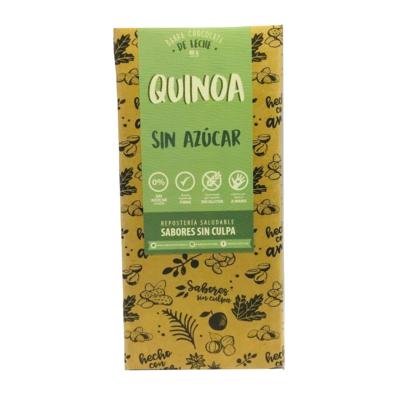 Chocolate Barra Quínoa Sin Azúcar 80 grs.