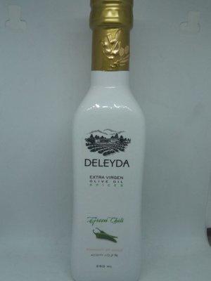 Aceite Oliva Deleyda Ají verde 250 ml.