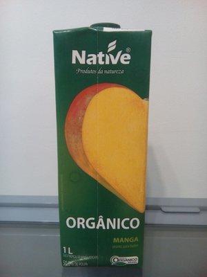 Jugo Orgánico Mango 1 Lt.