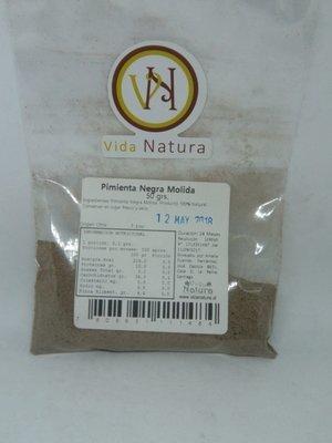 Pimienta Negra Molida 50 grs.