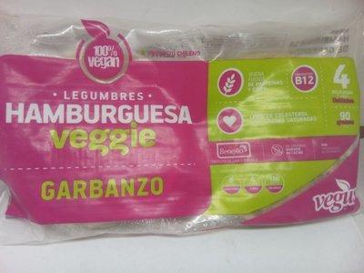 Hamburguesa Garbanzo vegana 90 grs.