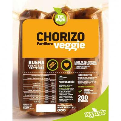 Chorizo Vegano 200 grs.