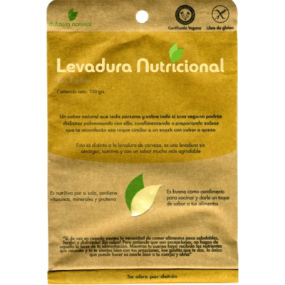Levadura Nutricional dulzura natural 100 grs.