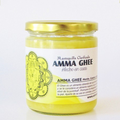Mantequilla Amma Ghee 390 ml.