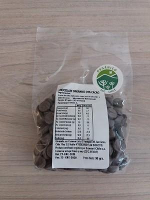 Chip de Chocolate Orgánico 70% Cacao